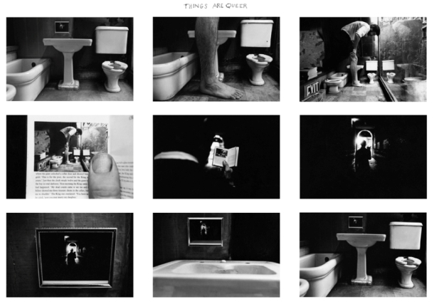 THINGS ARE QUEER - Duane Michals, 1973